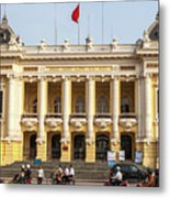 Hanoi Opera House 01 Metal Print