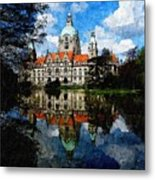 Hanover Germany Catus 1 No. 1 H B Metal Print