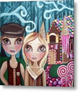 Hansel And Gretel Metal Print