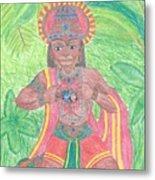 The Bhakta Metal Print