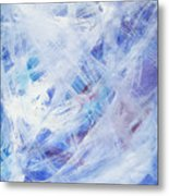 Happy Abstract Metal Print