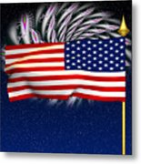 Happy Birthday America Metal Print