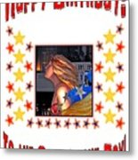 Happy Birthday To The Star Of The Day Metal Print