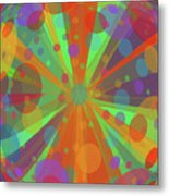 Happy Blankie Metal Print