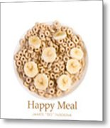 Happy Breakfast Fine Art Poster Metal Print