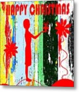 Happy Christmas 14 Metal Print