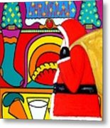 Happy Christmas 30 Metal Print