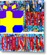 Happy Christmas 88 Metal Print