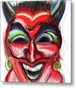 Happy Devil Metal Print