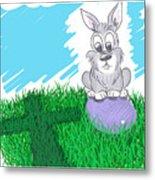 Happy Easter Metal Print