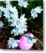 Happy Easter II Metal Print