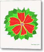 Happy Flower Metal Print