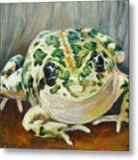 Happy Frog Metal Print