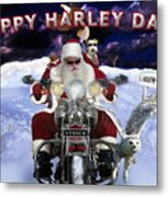 Happy Harley Days Metal Print