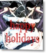 Happy Holidays 30 Metal Print