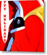 Happy Holidays 6 Metal Print by Patrick J Murphy
