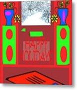 Happy Holidays 98 Metal Print
