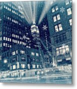 Happy Holidays From New York City Metal Print