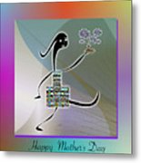 Happy Mother's Day   2 Metal Print