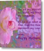 Happy Mothers Day 2 Metal Print