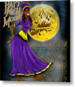 Happy New Moon Sirach 43 Metal Print