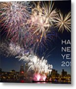 Happy New Year 2016 Metal Print