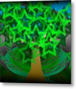Happy Tree Metal Print