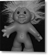 Happy Troll Metal Print