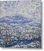 Happy Winter. Metal Print