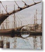 Harbor At Rest Metal Print