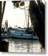 Harbor Boats Metal Print
