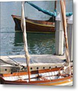 Harbor Days Metal Print