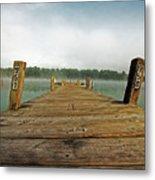 Harbor Dock Metal Print