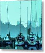 Harbor Impression Metal Print