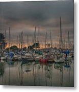 Harbor Light Metal Print