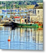 Harbor Morning Metal Print