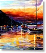 Harbor Of Messina - Sicily Metal Print