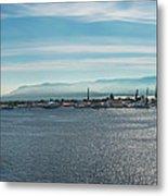 Harbor Panorama  Metal Print
