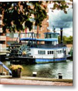 Harbor Park Ferry 5 Metal Print by Lanjee Chee
