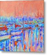 Harbor Sunrise  Eight Am Metal Print