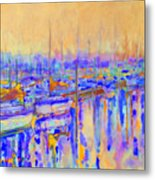 Harbor Sunrise I     Six Am Metal Print