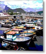 Harbour 01 Metal Print