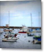 Harbour Boats Metal Print