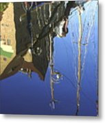 Harbour Reflection Metal Print