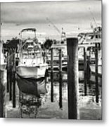 Harbour Scene Metal Print
