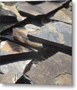 Hard Edge Metal Print