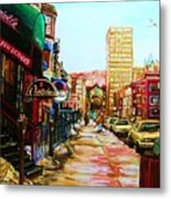 Hard Rock Cafe  Metal Print