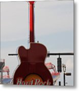 Hard Rock Cafe Nashville Metal Print