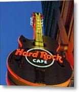 Hard Rock Guitar Detroit Metal Print