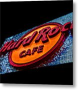 Hard Rock Hollywood Metal Print